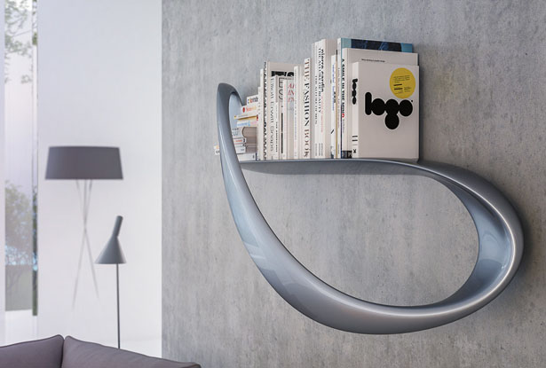 Lemniskata Shelf by Nuvist