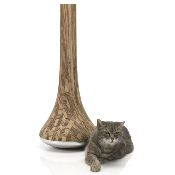 Leo Cat Scratching Post by James Owen Design