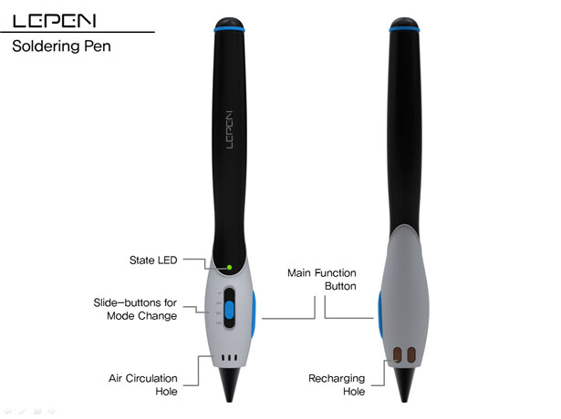 Lepen Soldering Pen System by Moonhwan Lee