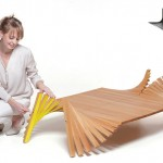 Lepke Formable Furniture : Unique Coffee Table by David Szabo