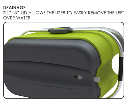level ice cooler