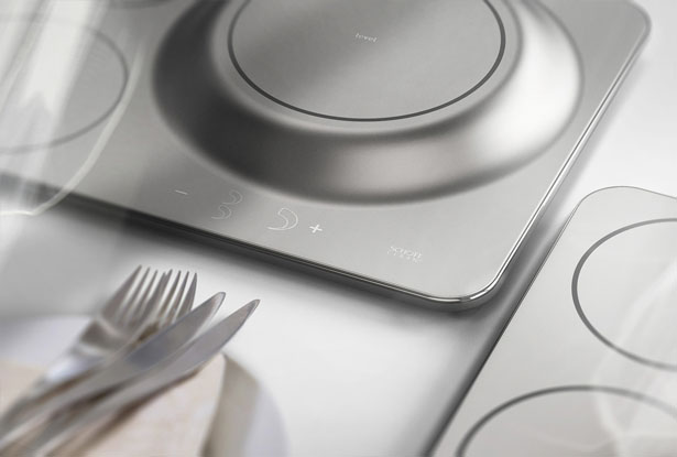 Leveled Induction Cooktop by Jaewan Choi
