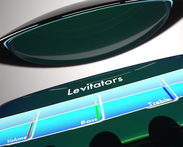 Levitating Superconducting Speakers by James Coleman
