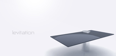 levitation one leg desk