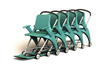 future levo hospital transport chair