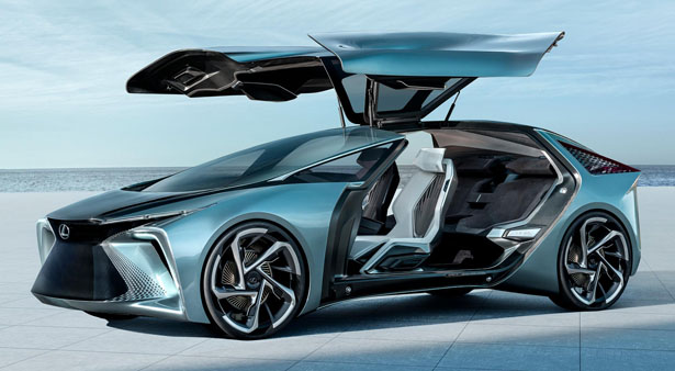 Lexus LF-30 Electrified Concept Vehicle for Dynamic Driving Experience