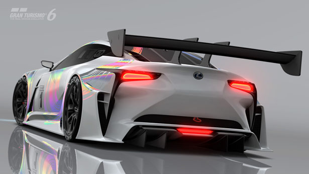 LEXUS LF-LC GT for Vision Gran Turismo Project