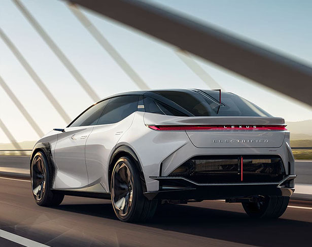 Lexus LF-Z Electrified Concept Car