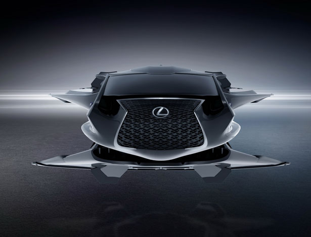 Lexus QZ 618 Galactic Enforcer Jet - Futuristic Lexus Jet for Men in Black