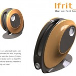 LFrit Toaster Design with 3 Levels of Toast Through A Simple Button