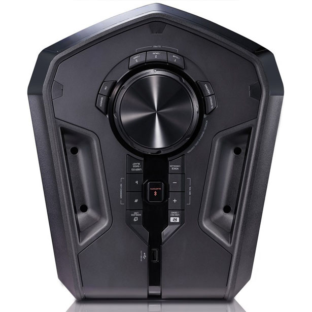 LG 600W Loudr Speaker System Features Bluetooth, Dancing Light, and Effects
