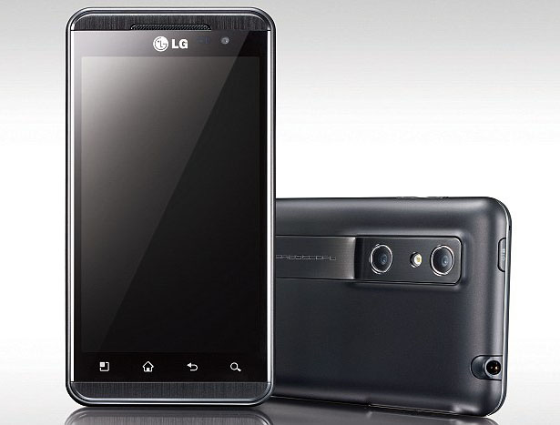 LG Optimus 3D Mobile Phone
