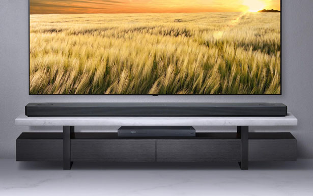 LG SL10Y 5.1.2 Channel Premium Sound Bar with Meridian Technology & Dolby Atmos