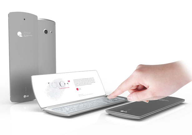 LG Touch Concept by Andrea Ponti Wins LG Mobile Design Competition 2012