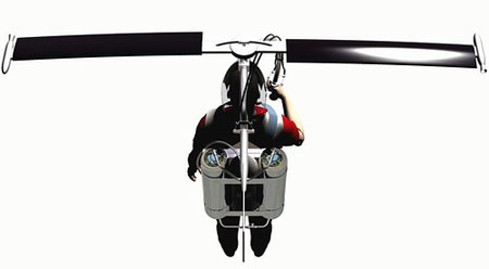 libelula strap on helicopter