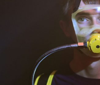 Life CAS Breathing Apparatus for Escaping Fires in High Rise Buildings