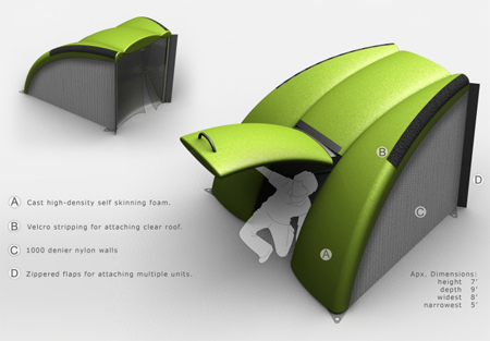 LifeLink Modular Shelter for Various Disaster Situations