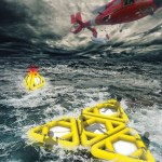 Life Triangle : A Life Raft With Triangular Shape Which Can't Be Capsized by Waves