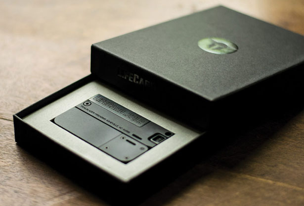 Lifecard .22LR Small and Thin Handgun Fits in Your Wallet by Trailblazer Firearms