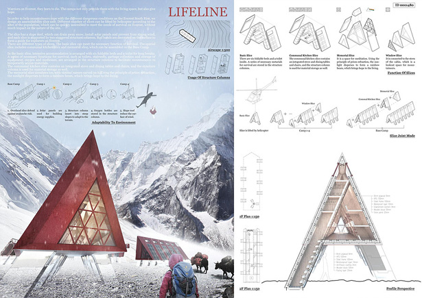Lifeline Base Camp Won 24H Competition Everest Edition by Jiaqi Wang, Wanzhu Jiang, Pinwen Zhang, and Qiuyu Li