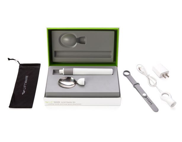 Liftware Level Starter Kit - Utensil with stabilizer