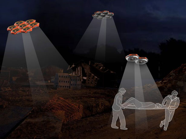 The Light of Life Drone Provides Reliable Light Source for Disaster Relief by Kuang Wei, Jing lv, and Qiaoshi Meng