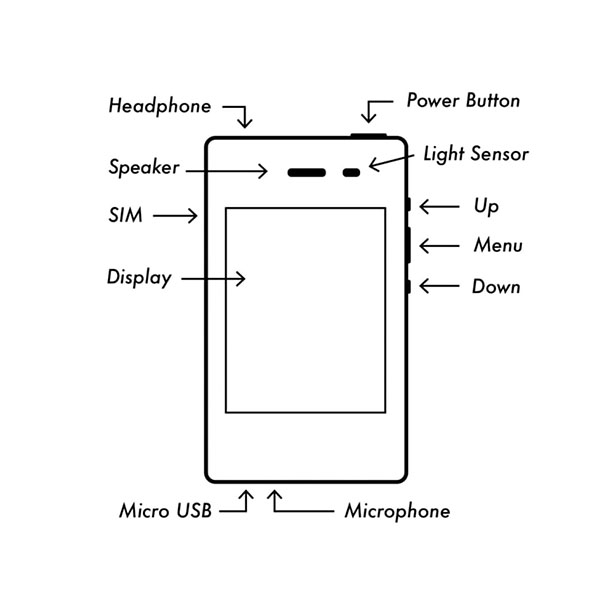 Light Phone II - Simple, Distraction-Free Cell Phone