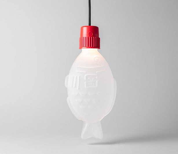 Light Soy - Premium Glass Lamp by Heliograf