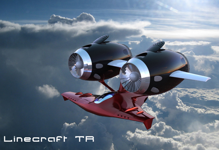 LineCraft TR : A Futuristic Aircraft Specializes In High Speed, Mid Altitude Flight