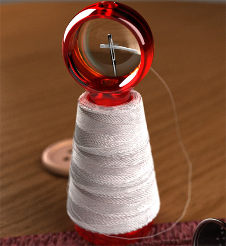 Little Helper Can Offer Big Help When Running A Thread Through The Needle