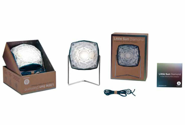 Little Sun Diamond - Solar Lamp with In-Built Stand