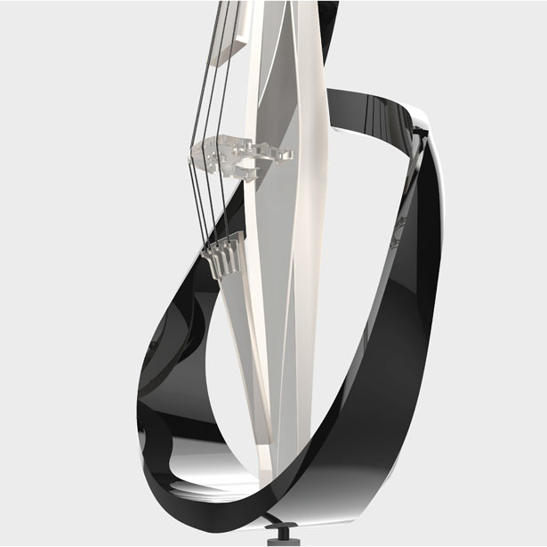 Futuristic Liu Cello Is Not Just a Music Instrument But Also Work of Art by Hubert Chen