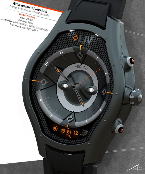 LIV Watch Concept by Alp Germaner
