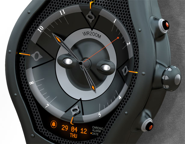 LIV Watch Concept Was Inspired by Energetic, Young and Active Lifestyle