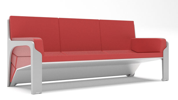 Livdin Sofa - Live and Dine Young Multifunctional Sofa by Terrence Seah