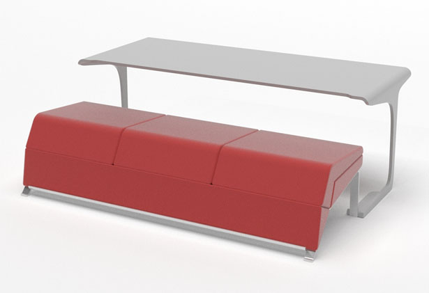 Livdin - Live and Dine Young Multifunctional Sofa by Terrence Seah