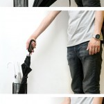 Lizard Umbrella Concept : Umbrella With Removable Handle to Prevent Theft