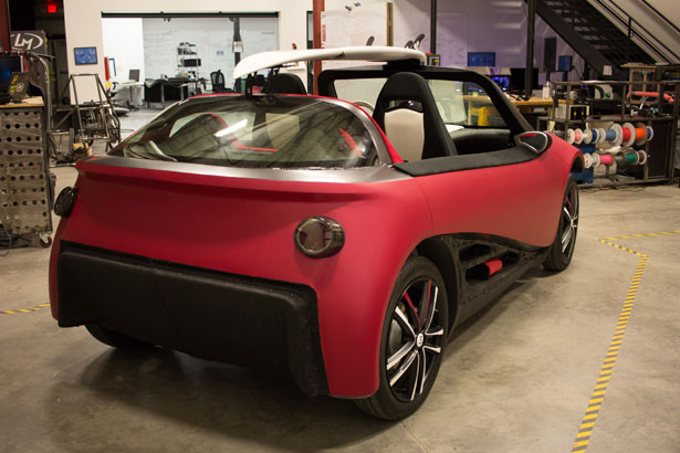 LM3D Swim : World's First 3D-Printed Car Series by Local Motors