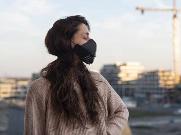 LMP - Reusable Protective Silicone Face Mask by Local Makers Project