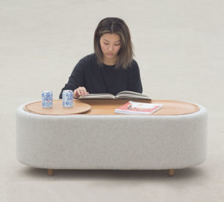 Lofe : Minimalist Coffee Table with Hidden Compartment