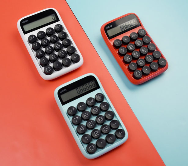 Lofree Digit Retro Mechanical Calculator