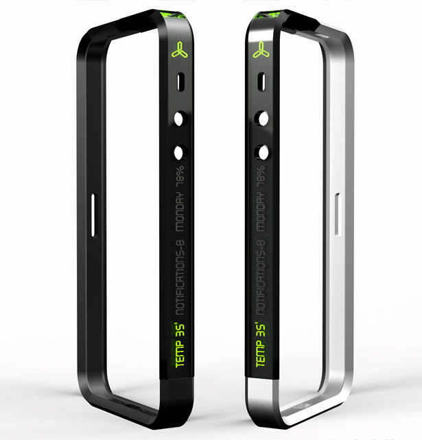 Log Digital iPhone Bumper by Subinay Malhotra