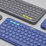Logitech K380 Multi-Device Keyboard Features Round Keys for Great Ergonomic Feel