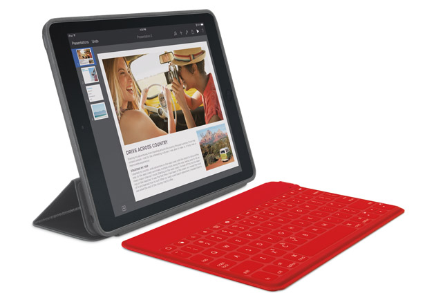 Logitech Keys-to-Go Ultra Thin Bluetooth Keyboard for iPad Air
