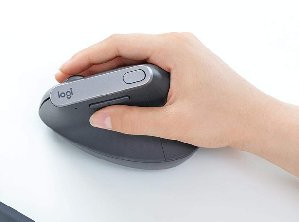 Logitech MX Vertical Advanced Ergonomic Bluetooth Mouse