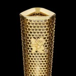 London 2012 Olympic Torch Design by Barber Osgerby
