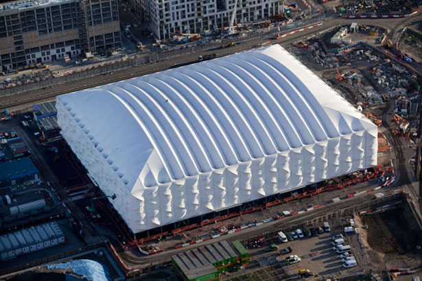 London 2012 Olympic Basketball Arena Architecture