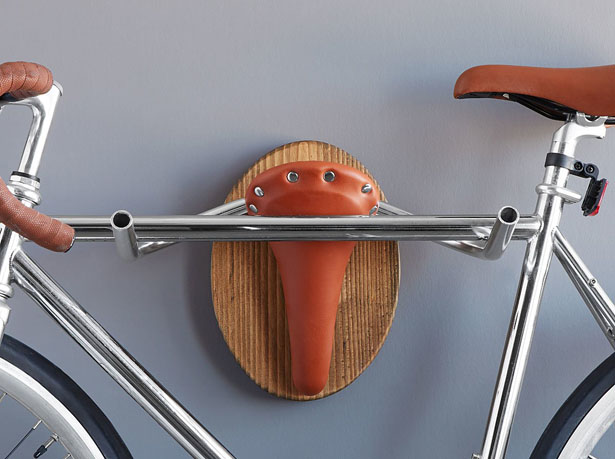 Longhorn Bicycle Rack by Phillip Stone