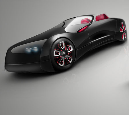 Loop Vignette : Eco-Friendly and Lightweight 2-Seater Electric Car for Next Generation