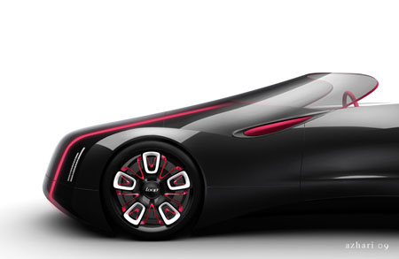 loop vignette electric roadster concept